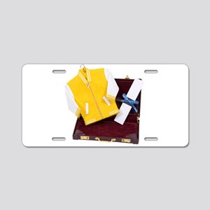 BusinessClasses110409 copy. Aluminum License Plate