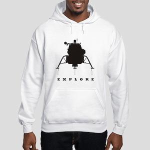 Lunar Module / Explore Hooded Sweatshirt