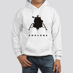 Lunar Module / Explore Hooded Sweatshirt