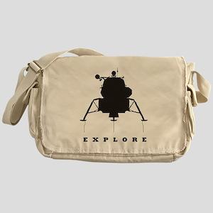 Lunar Module / Explore Messenger Bag