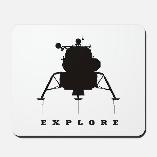 Lunar Module / Explore Mousepad