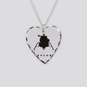Lunar Module / Explore Necklace Heart Charm