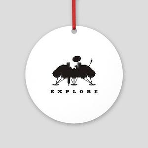 Viking / Explore Ornament (Round)