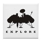 Viking / Explore Tile Coaster