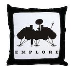 Viking / Explore Throw Pillow