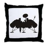 Viking Lander Throw Pillow