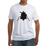 Lunar Module Fitted T-Shirt