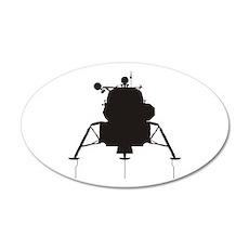 Lunar Module 22x14 Oval Wall Peel