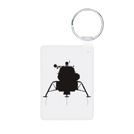 Lunar Module Aluminum Photo Keychain