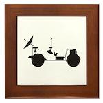 Lunar Rover Framed Tile