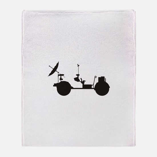 Lunar Rover Throw Blanket