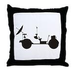 Lunar Rover Throw Pillow