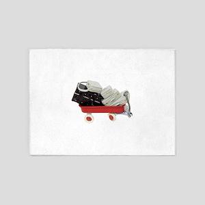 BaggageOfPast030709 copy 5'x7'Area Rug