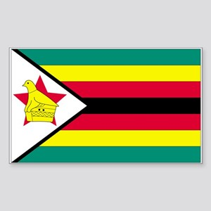 Zimbabwe Rectangle Sticker