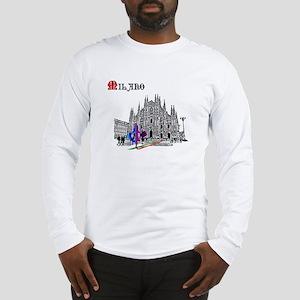 Milano Milan Italy Long Sleeve T-Shirt