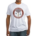 Keystone XL Pipeline Fitted T-Shirt
