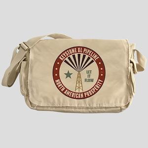 Keystone XL Pipeline Messenger Bag