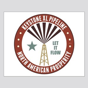 Keystone XL Pipeline Small Poster
