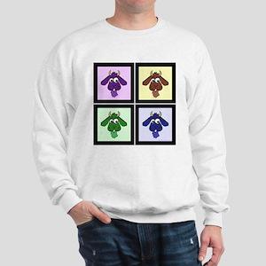 Pop Art Goats Sweatshirt