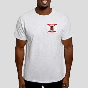 Proud 509th Airborne Dad ribbon Ash Grey T-Shirt