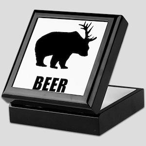 Beer Bear Keepsake Box