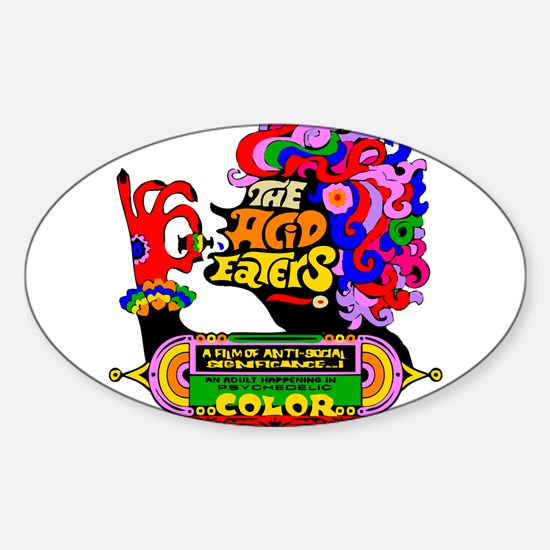 Acid Eaters Sticker (Oval)