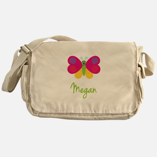 Megan The Butterfly Messenger Bag