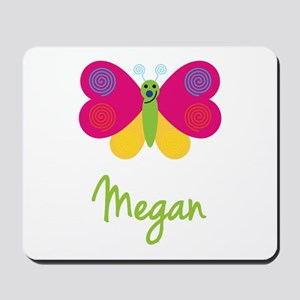 Megan The Butterfly Mousepad