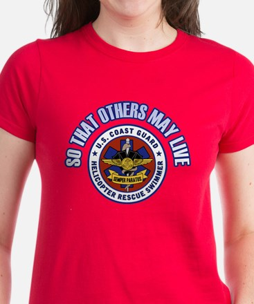 That Others May Live Women's Dark T-Shirt