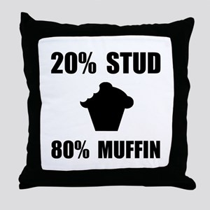 Mostly Muffin Throw Pillow