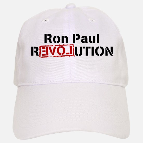 Ron Paul Revolution Baseball Baseball Cap