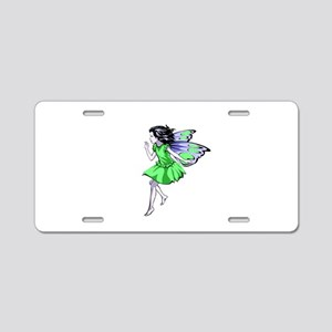 Fairy Aluminum License Plate