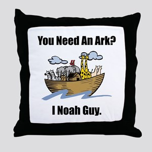 Noah Guy Throw Pillow