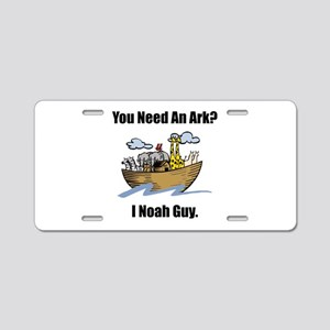 Noah Guy Aluminum License Plate