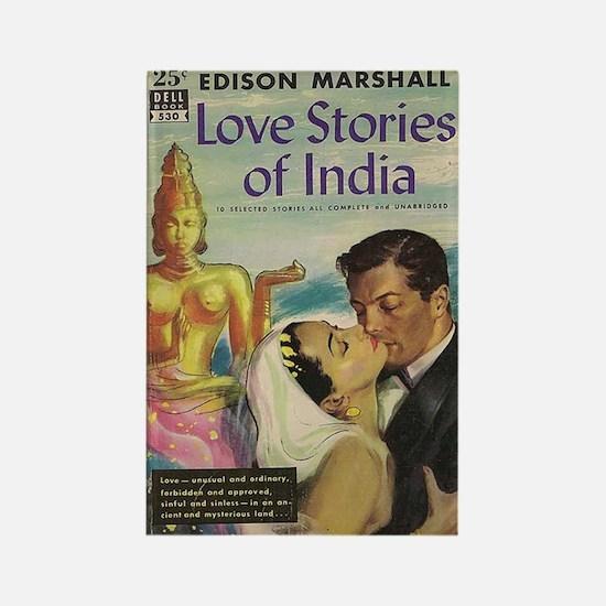 Pulp fiction Lovestories Rectangle Magnet