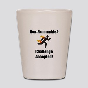 Non Flammable Shot Glass