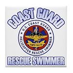 Rescue Swimmer Tile Coaster