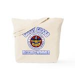 Rescue Swimmer Tote Bag