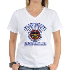 Rescue Swimmer Women's V-Neck T-Shirt
