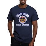 Rescue Swimmer Men's Fitted T-Shirt (dark)