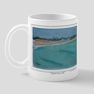 Santa Cruz Left Left Handed Mug