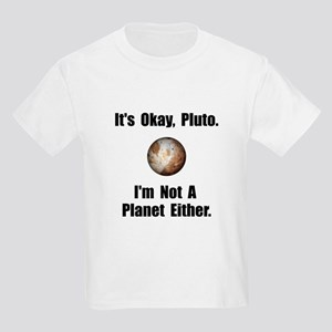 Pluto Planet Kids Light T-Shirt