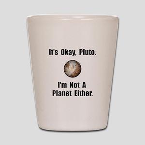 Pluto Planet Shot Glass