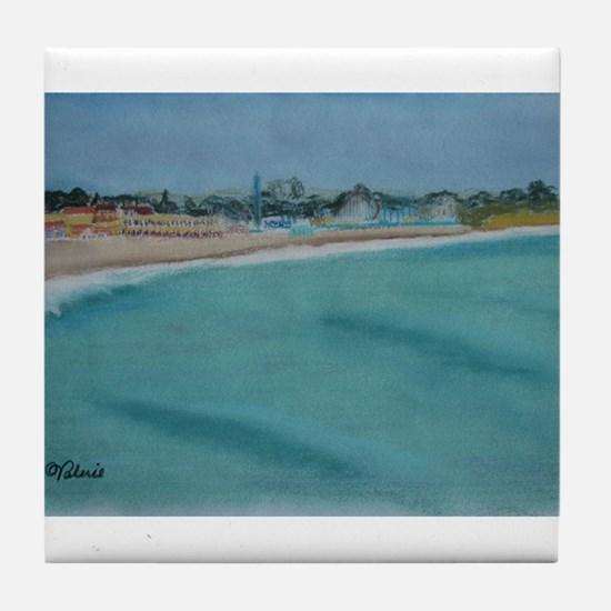 Santa Cruz Left Tile Coaster