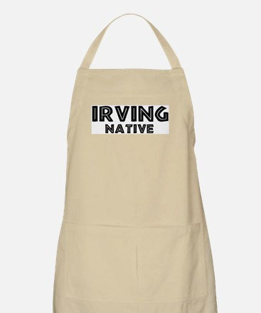 Irving Native BBQ Apron