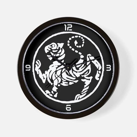 Unique Shotokan tiger Wall Clock