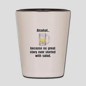 Alcohol Salad Shot Glass