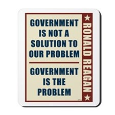Government Is The Problem Mousepad