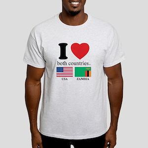 USA-ZAMBIA Light T-Shirt