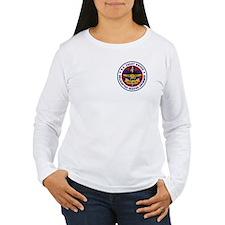 2-Sided Rescue Swimmer Women's Long Sleeve T-Shirt